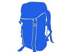 バックパッカーの持ち物・荷物