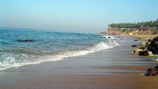 インド旅行記 バルカラのビーチ