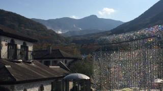 箱根ガラスの森美術館を鑑賞 国内旅行記