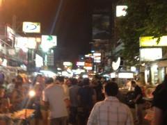 カンボジア旅行記 経由地バンコク