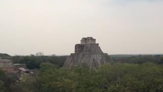 メキシコ ハネムーン(新婚旅行) ウシュマル遺跡