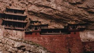 中国旅行記 大同 世界遺産雲崗石窟と懸空寺