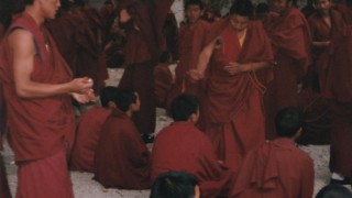 中国・チベット旅行記 セラ寺の問答