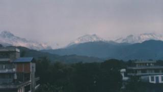 ネパール旅行記 ヒマラヤを望むポカラの町