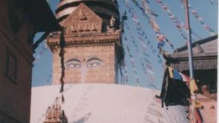 ネパール旅行記 カトマンズのスワヤンブナート