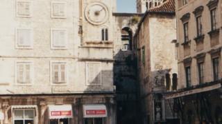 クロアチア旅行記 世界遺産スプリット